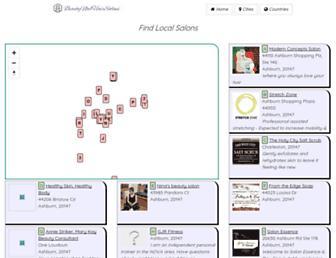 beautynailhairsalons.com screenshot