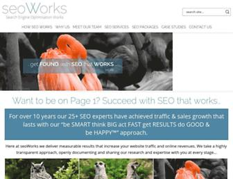 Thumbshot of Seoworks.com