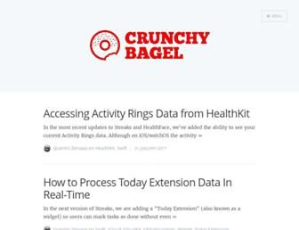crunchybagel.com screenshot