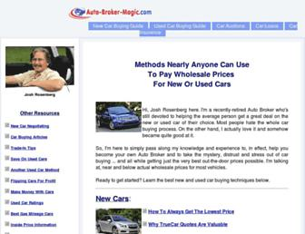 auto-broker-magic.com screenshot