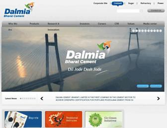 dalmiacement.com screenshot