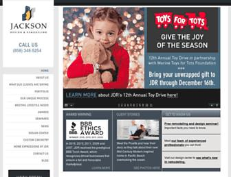 jacksondesignandremodeling.com screenshot