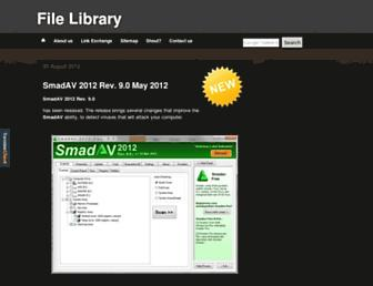 filelibrary.blogspot.com screenshot