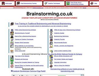 brainstorming.co.uk screenshot