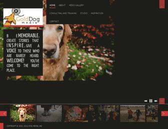 golddogmedia.com screenshot