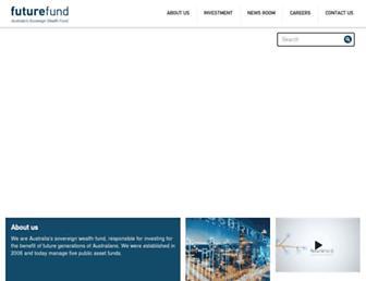futurefund.gov.au screenshot