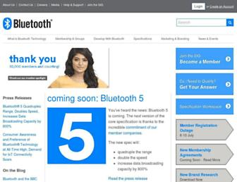 Thumbshot of Bluetooth.com