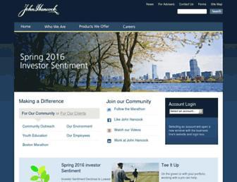 johnhancock.com screenshot
