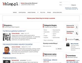 Main page screenshot of taobao.bblog.pl