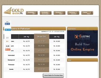 Thumbshot of Goldrates.pk