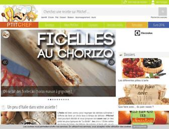 Thumbshot of Ptitchef.com