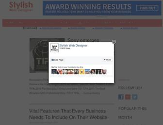 stylishwebdesigner.com screenshot