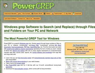 powergrep.com screenshot