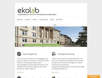 ekolab.dk screenshot