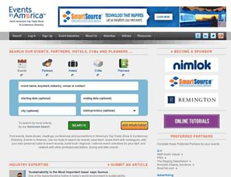 eventsinamerica.com screenshot