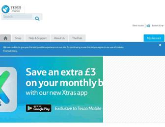 tescomobile.com screenshot