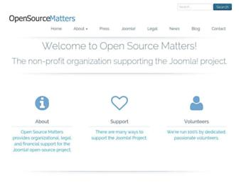 Thumbshot of Opensourcematters.org