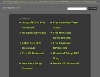 songspke.me screenshot