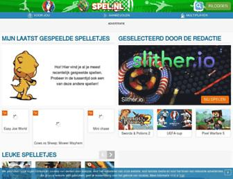 Thumbshot of Spel.nl