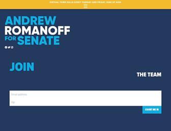 andrewromanoff.com screenshot