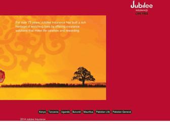 jubileeinsurance.com screenshot