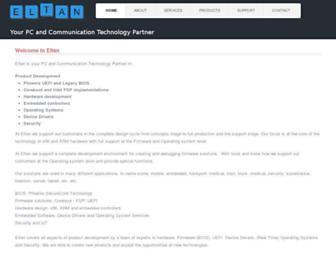 eltan.com screenshot