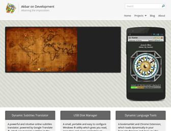 syedgakbar.com screenshot