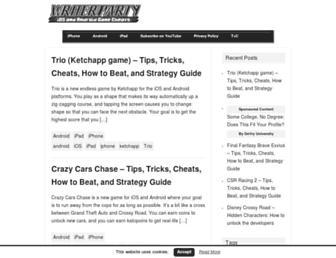 writerparty.com screenshot