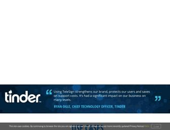 Thumbshot of Telesign.com