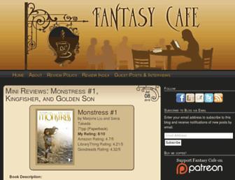fantasybookcafe.com screenshot