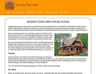 the-house-plans-guide.com screenshot