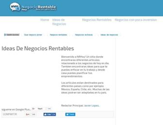 negociorentablehoy.com screenshot