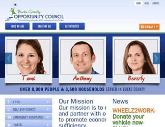 Main page screenshot of bcoc.org