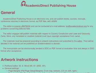 ph.academicdirect.org screenshot