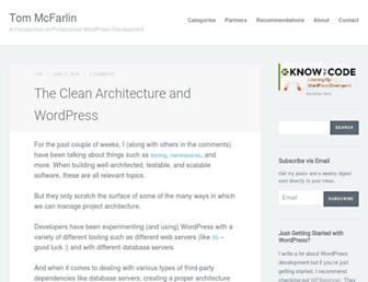 Thumbshot of Tommcfarlin.com