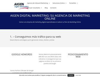 aigendigitalmarketing.net screenshot