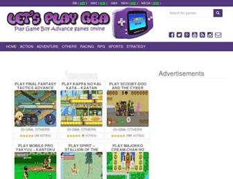 letsplaygba.com screenshot