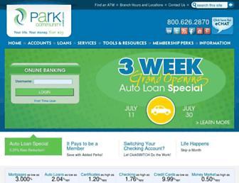 parkcommunity.com screenshot