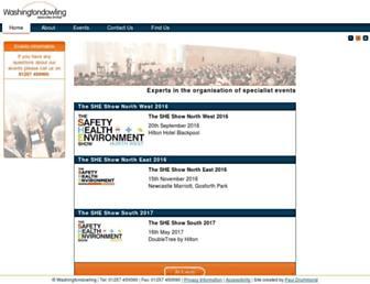 Main page screenshot of seecon.org.uk
