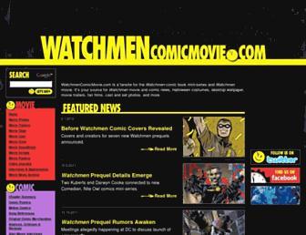 watchmencomicmovie.com screenshot