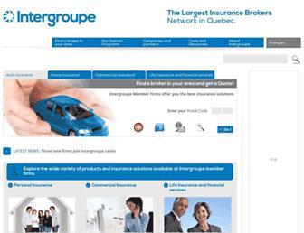 intergroupe.ca screenshot