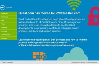 quest.com screenshot