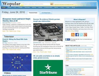 wopular.com screenshot
