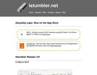 istumbler.net screenshot