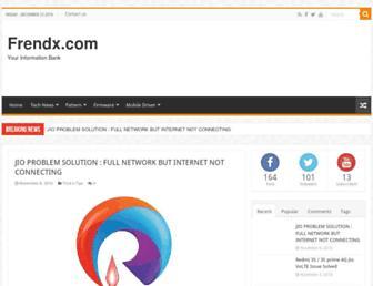 frendx.com screenshot