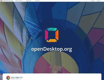 opendesktop.org screenshot