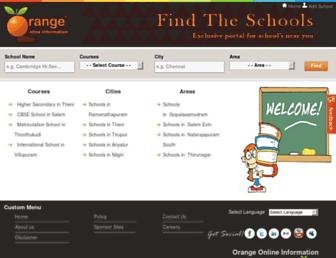 findtheschools.info screenshot