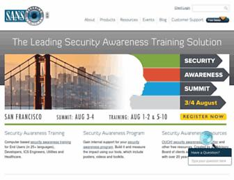 Thumbshot of Securingthehuman.org