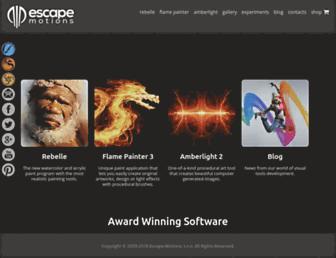 escapemotions.com screenshot