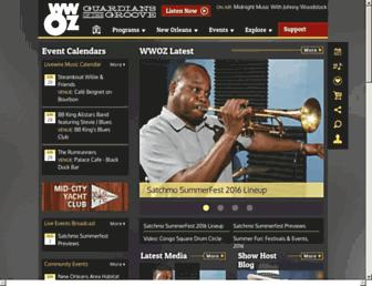 Thumbshot of Wwoz.org
